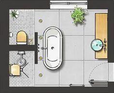 Die 45 besten Bilder von Badezimmer Grundriss | Bathroom, Bathroom ...