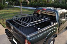 Custom ladder styled racks for pickup trucks. Toyota Tacoma, Toyota Tundra Lifted, Truck Bed Bike Rack, Truck Roof Rack, Toyota Trucks, Chevy Trucks, Pickup Trucks, Custom Truck Beds, Custom Trucks