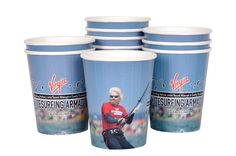 Kitesurfing Armada special paper cups by #unicup (www.unicup.pl)