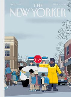 """Cover Story: """"Stop,"""" by Chris Ware - The New Yorker"""