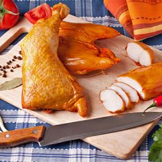 Polish Recipes, Smoking Meat, Charcuterie, Kfc, Poultry, Sausage, The Cure, Bacon, Turkey