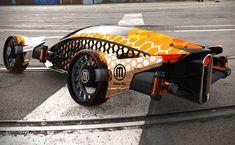 2040 Cars Firanse r3 futuristic car by