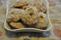 Nan-e Badami. Persian almond cookies. http://rhubarbandrosewater.wordpress.com/2014/03/20/nan-e-badami-persian-almond-cookies/