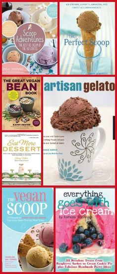 Giveaway: 7 ice cream cookbooks! Ends 8/31/14 Cookistry: Coffee Ice Cream #IceCreamWeek