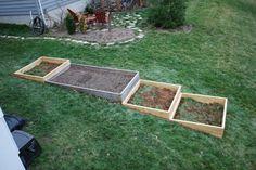raised bed gardening plans hillside