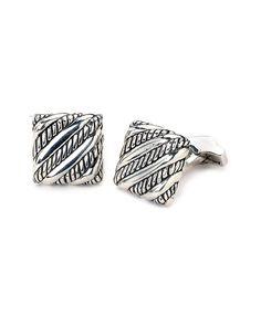 Samuel B. Imperial Silver Cufflinks is on Rue. Shop it now.