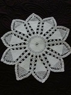 Doily Patterns, Chrochet, Crochet Doilies, Rugs, Home Decor, Towels, Table Runners, Mesas, Crocheting