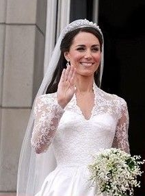 Royal wedding dress
