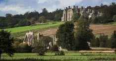 Beautiful ruins of Bayham Abbey, Tunbridge Wells