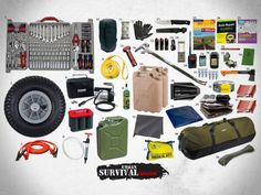 BOV (Bug Out Vehicle) Emergency Survival Gear