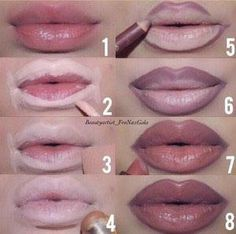 Makeup How to fake your way to bigger lips Makeup Techniques BIGGER Fake Lips Makeup Makeup Techniques contouring Lip Makeup Tutorial, Lipstick Tutorial, Lip Liner Tutorial, Big Lips Tutorial, Makeup Contouring, Makeup Tricks, Makeup Ideas, Beauty Tricks, Makeup Tutorials