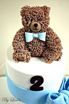 Teddy bear cake (love this!)