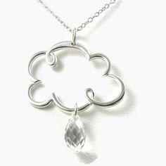 storm cloud necklace