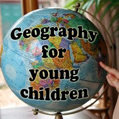 Geography for preschoolers. Easy fun ways for your preschooler to learn the name and location of every country in the world.