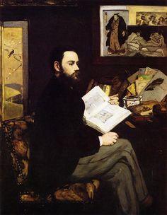 Edouard Manet | Emile Zola (1868, Musée d'Orsay, Paris)