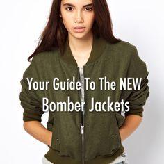 Bomber Jackets: Hot for Fall!