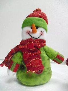 decoracion navideña santa muñeco de nieve navidad