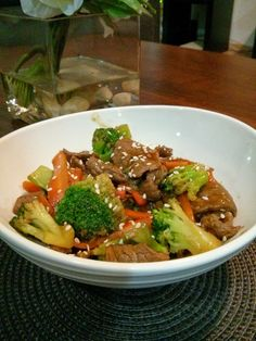 Teriyaki Beef with Vegetables Recipe! It's so easy to make!! I loved it!