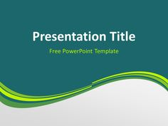 47 best Abstract PowerPoint Templates images on Pinterest in 2018 ...
