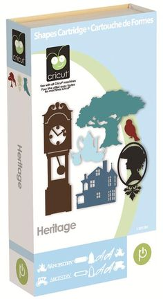 Cricut® Heritage Cartridge- need this for Ellee's 1st birthday as long as someone lets me borrow their Cricut ;-)