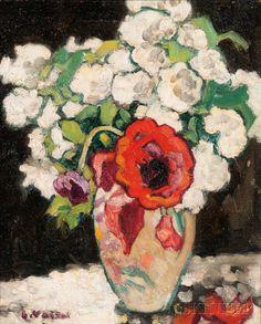 Louis Valtat (French, 1869-1952) Boules de neige et pavot. | Lot 396 | Auction 2977B | Sold for $39,360
