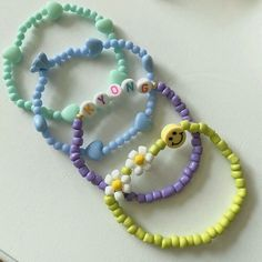 Cute Jewelry, Diy Jewelry, Jewelery, Jewelry Accessories, Handmade Jewelry, Jewelry Making, Kandi Bracelets, Bracelet Crafts, Friendship Bracelets