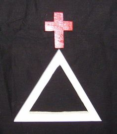 Cross and Triangle