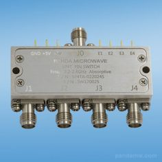 SP4TA-022024S SP4T Absorptive PIN Diode Switch