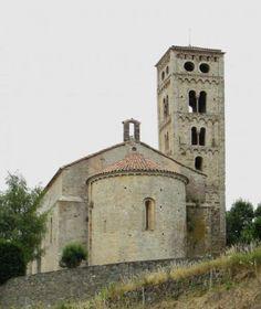 Molló, provincia de Girona - Iglesia románica de Santa Cecila