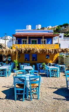 El Greco Traditional Taverna - Leros, Greece