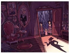 Megan Fisher, «A Series of Unfortunate Events Mock Book Cover»
