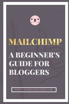 Part 1 of the MailChimp for Beginner's covers signing up with MailChimp, creating your first signup form and adding your lead magnet to your welcome email. A step by step guide for bloggers who want to learn how to use MailChimp to send beautiful emails which have a high rate of deliverability and opening rate.