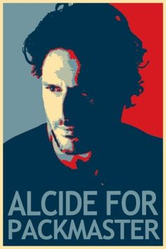 True Blood campaign~Alcide for pack master. He can be MY master!
