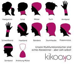 kikooko.de - Anleitung Multifunktionstuch