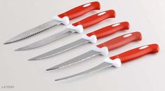 Choppers & Peelers Amazing Home Kitchen Utilities  Material : Steel & Plastic Size: Free Size Description : It has 5 Piece Of Knife Set Sizes Available: Free Size *Proof of Safe Delivery! Click to know on Safety Standards of Delivery Partners- https://ltl.sh/y_nZrAV3  Catalog Rating: ★3.9 (179)  Catalog Name: Unique Homefab Kitchen Utilities Vol 15 CatalogID_93898 C135-SC1656 Code: 442-815680-