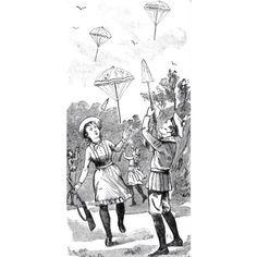 Escopeta paracaídas #1900 #argentina #buenosaires #ads #vintage