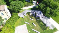 Gallery of Chinese Pavilion Opens With Robot-Printed 'Cloud Village' at 2018 Venice Biennale - 13 Outdoor Pavilion, Public Realm, Digital Fabrication, Construction Process, Venice Biennale, Rural Area, Flat Roof, Environmental Issues, Cool Things To Make