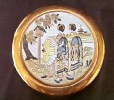 24 K Chokin Trinket Box by SanMonet on Etsy, $25.00