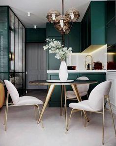 36 Stunning Home Interior Design - 2020 Home design Interior Design Kitchen, Modern Interior Design, Home Design, Room Interior, Design Ideas, Interior Colors, Design Blogs, Design Trends, Kitchen Designs