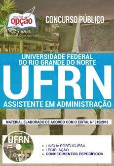 Apostila Ufrn Assistente Administrativo Concurso Concursos