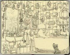 Los nuevos ilustradores usan libretas. Una selección de Sketchbooks con las mejores libretas ilustradas del momento