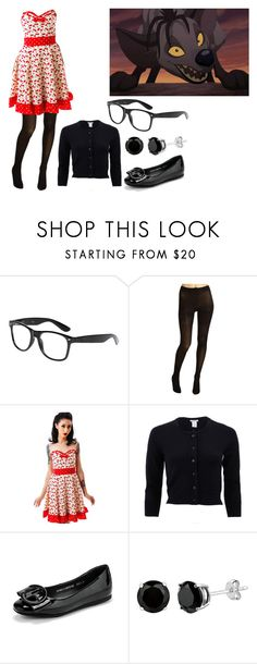 """""""Shenzi The Commitment Determination"""" by brainyxbat ❤ liked on Polyvore featuring BANZAI, Cole Haan, Sourpuss, Oscar de la Renta and WithChic"""