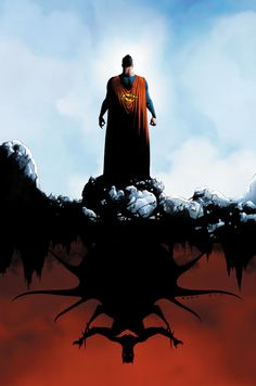 """clandestinecritic: """" DC comics for April: this is the cover for Batman/Superman drawn by Jae Lee. Comic Book Artists, Comic Book Characters, Comic Artist, Comic Character, Character Design, Marvel Comics, Dc Comics Art, Fun Comics, Cosmic Comics"""