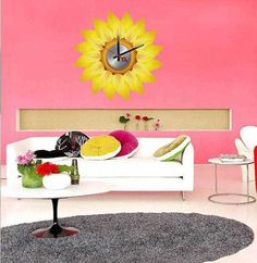 Great prices on your favourite Home brands, and free delivery on eligible orders. Wall Clock Sticker, Decoration, Wall Decor, Diy, Stickers, Table, Furniture, Home Decor, Amazon