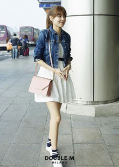 SNSD Sooyoung DoubleM airport fashion