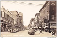 RP: Main Street , Looking North , DUBUQUE , Iowa , 30-40s