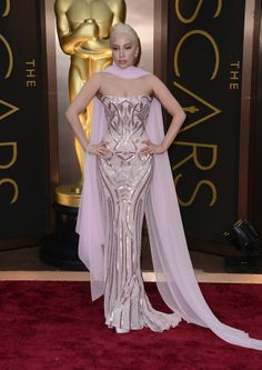 Lady Gaga/Atelier Versace Oscars 2014