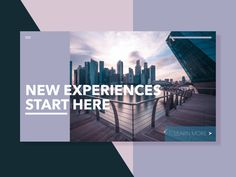 Travel Website Header Concept by TC Creatives Website Header, New Experience, Community, Concept, Learning, Creative, Travel, Viajes, Studying