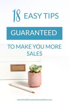 18 tips guaranteed to make you more sales. Want to make more sales when you launch a product, do a Black Friday sale or any other type of sales campaigns? check out these 18 easy and actionable tips to help you sell more and make more money with your website. #salescampaigns #makemoneyblogging #bloggingtips #emailmarketing