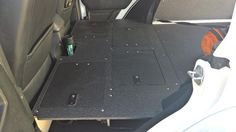 Jeep JKU 100% Sleeping Platform for Floor Plate System 2007-2017 Jeep 4 door models. The sleeping platform is a bolt in replacement for an entire rear seat dele